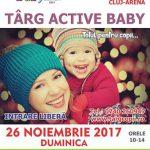 26 noiembrie Targ pentru copii Active Baby