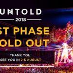 Primele 15.000 de abonamente pentru UNTOLD 2018