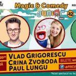 Castigatorii celor 2 invitatii simple la Seară de magie cu Vlad Grigorescu, Paul Lungu si Crina Zvoboda