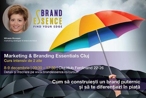8-9 decembrie Marketing&Branding Essentials