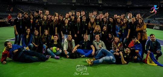 Voluntarii din Mişcarea Sportivă a Studenţilor Transilvăneni colaborează, din nou, cu FRT pentru întâlnirea din Fed Cup de la Cluj-Napoca