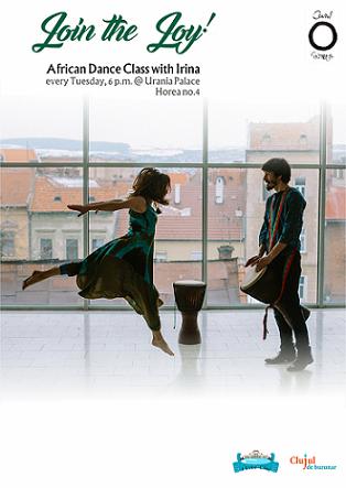 20 februarie African Dance Class