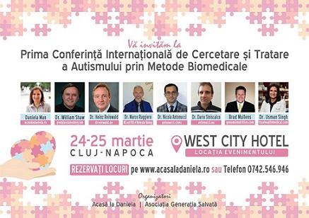 Prima Conferinta Internationala de Tratare a Autismului