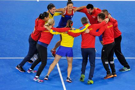 Irina Begu a asigurat victoria și calificarea României în barajul pentru prima Grupă Mondială a Fed Cup by BNP Paribas