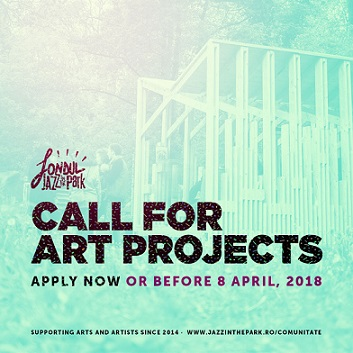Se lansează Fondul Jazz in the Park 2018. 30.000 de euro pentru proiecte artistice