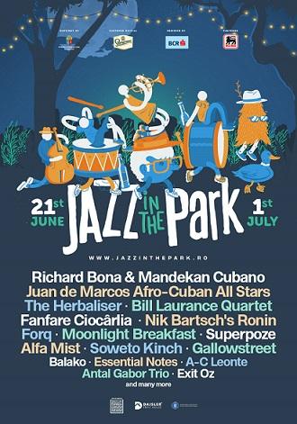 Jazz in the Park anunță 13 nume de top din jazz-ul contemporan