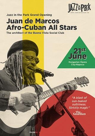 Big Band-ul Afro-Cuban All Stars deschide ediția a șasea a festivalul Jazz in the Park