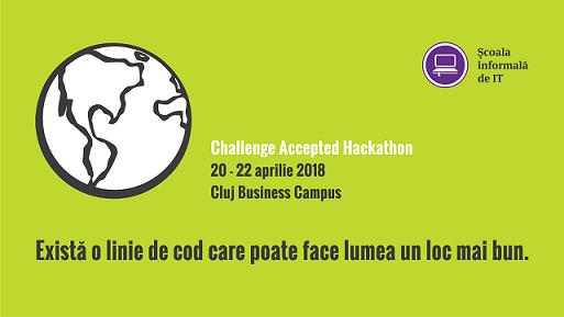 Soluții pentru domeniul medical, educație și societate vor fi dezvoltate la Challenge Accepted – Hackathon, în acest weeekend
