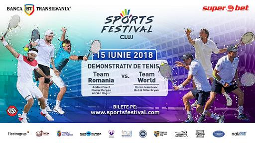 Tenis de mare clasă la Sports Festival