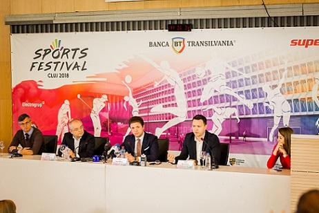 Demonstrativ între Legendele Barcelonei și Generația de Aur a României, în cadrul Sports Festival