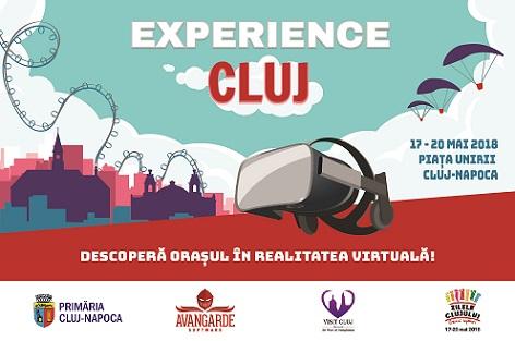 Lansarea  primei aplicații de explorare în realitate virtuală a oraşului – Experience Cluj