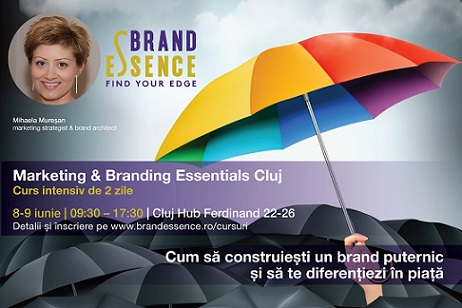 8-9 iunie Marketing & Branding Essentials