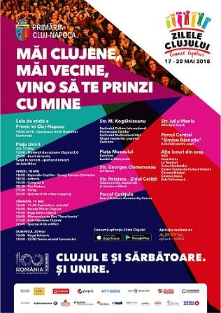 Încep Zilele Clujului