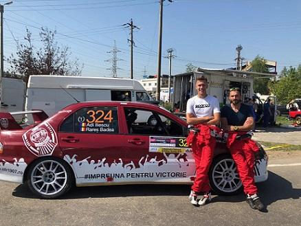 CFR Cluj, susținută inedit la Transilvania Rally de un echipaj