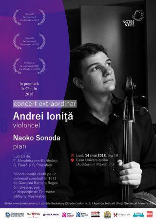 14 mai Concert extraordinar Andrei Ioniță