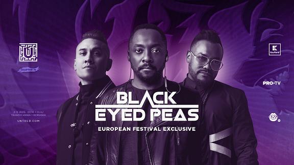 Black Eyed Peas, concert exclusiv în Europa, la UNTOLD