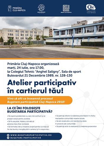 Atelier participativ în cartierul Mărăşti