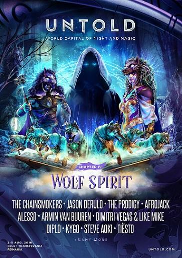 2-5 august Untold Festival 2018