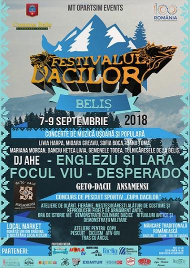 7-9septembrie Festivalul Dacilor