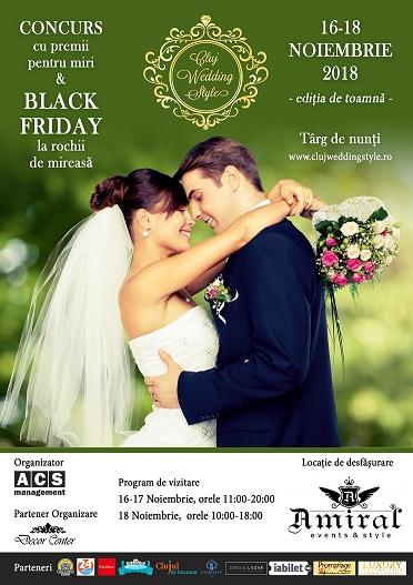 16-18 noiembrie Cluj Wedding Style
