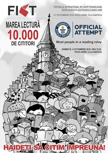 FICT 2018 daruieste 10.000 de exemplare din Eminescu la Marea Lectura