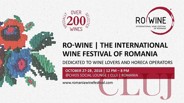 27-28 octombrie RO Wine – International Wine Festival of Romania