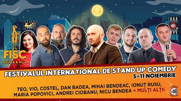 5-11 noiembrie Festivalul Internaţional de Stand-up Comedy