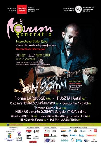 31 octombrie-4 noiembrie Festivalul Novum Generatio