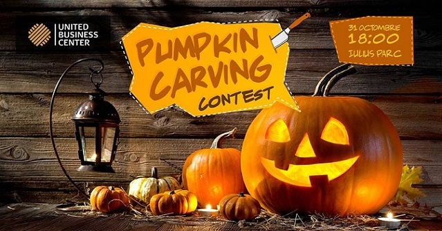31 octombrie Pumpkin Carving Contest