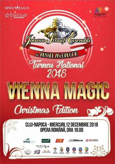 Castigatorii invitatiilor simple la concertul Vienna Magic