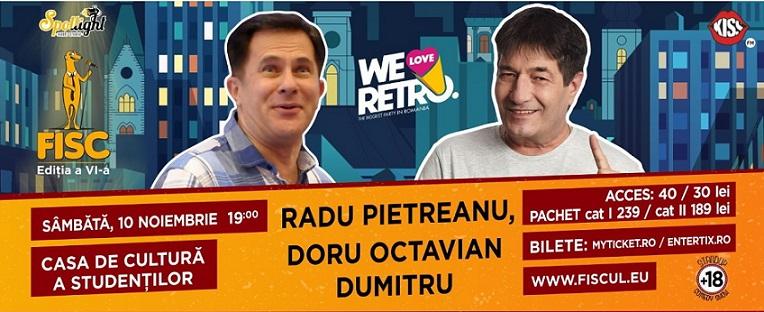 Stand-up comedy retro cu Radu Pietreanu si Doru Octavian Dumitru