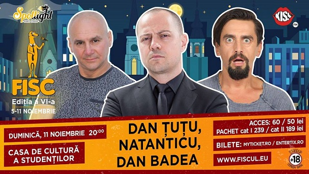Stand-up Comedy cu Dan Tutu, Natanticu si Dan Badea