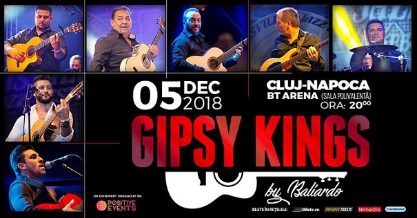 5 decembrie Concert Gipsy Kings