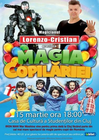 Castigatorii invitatiilor simple la spectacolul Magia Copilariei