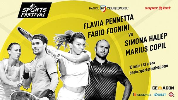 Simona Halep vine la Cluj la Sports Festival alături de nume grele ale tenisului mondial