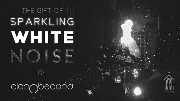 12  ianuarie The gift of sparkling white noise