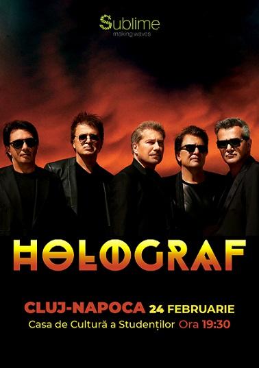 Super Concert Holograf la Cluj, de Dragobete