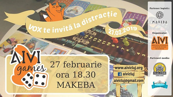 27 februarie AIVIgames