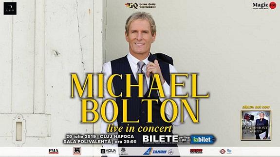 20 iulie Concert Michael Bolton