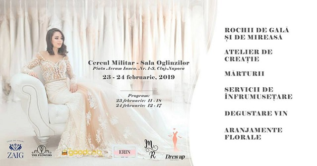 23-24 februarie Sell your dress