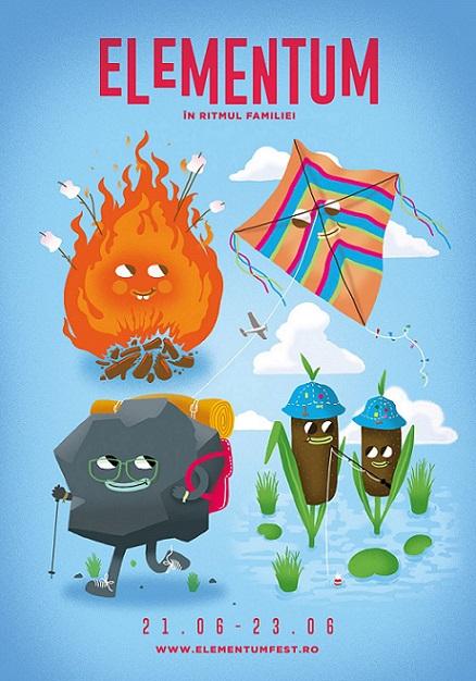 Lună de foc, activități de foc la Elementum, festival pentru familii