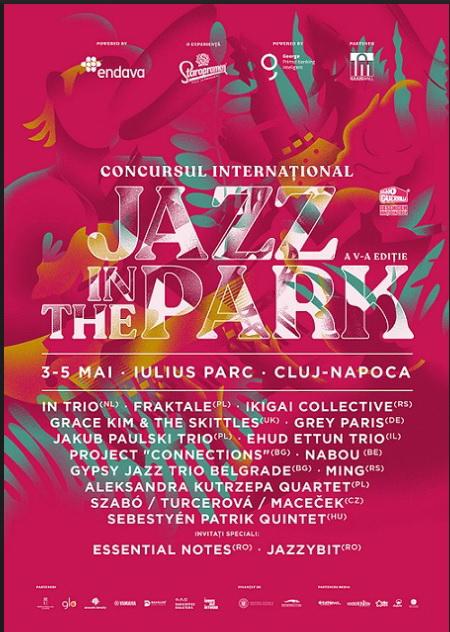 14 trupe din 10 țãri vor urca pe scena Concursului Internațional Jazz in the Park 2019