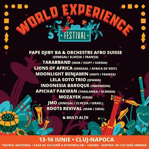Cluj-Napoca este în premieră gazda celei de-a cincea ediții a World Experience Festival