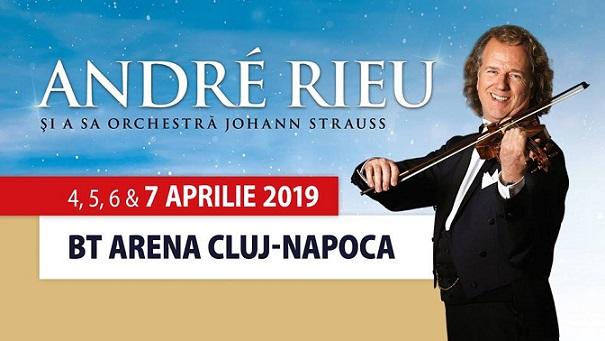 4-7 aprilie Concert André Rieu