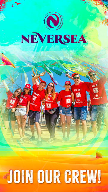 Inscrie-te în echipa de voluntari pentru Neversea