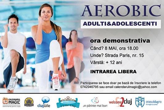 8 mai Aerobic pentru adulti si adolescenti