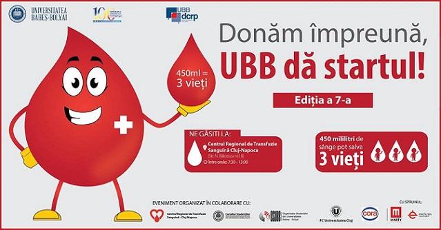 13-17 mai Donăm împreună, UBB dă startul!