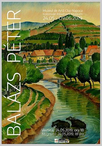 9 iunie Expozitia Balázs Péter. Pictură