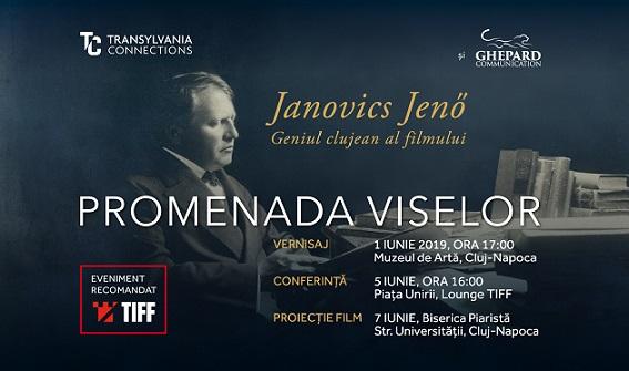 Eveniment cultural de referinţă la Cluj, în cadrul TIFF: Janovics Jenő  – Geniul Clujean al Filmului