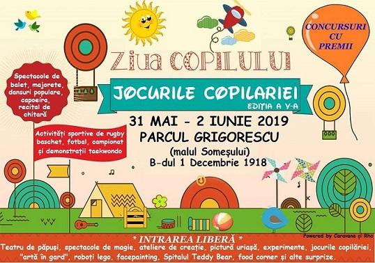 31 mai-2 iunie Jocurile Copilăriei